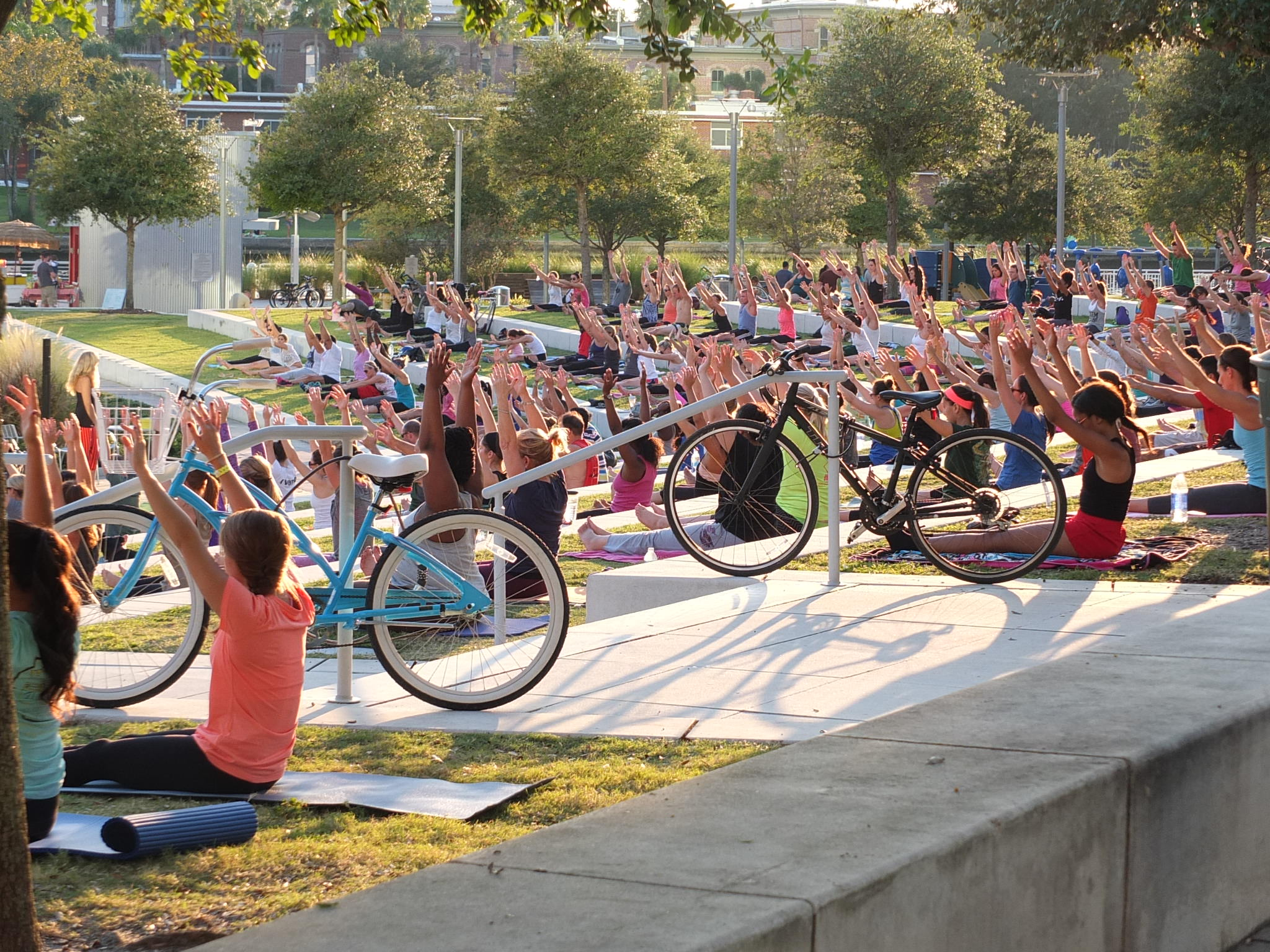 Yoga in the Park Tampa Gym & Health